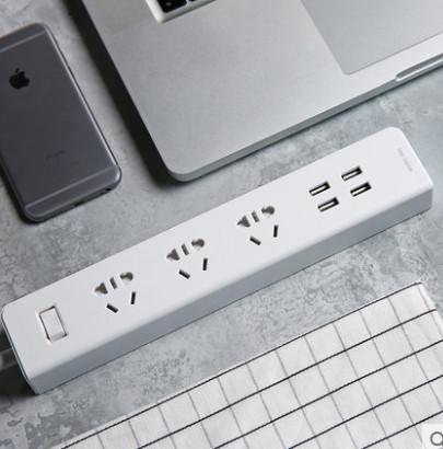 【网易智造】USB多功能插线板