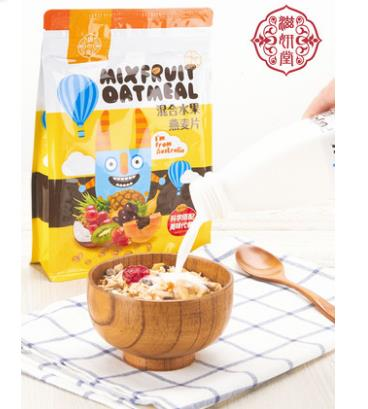 澳洲代餐混合水果燕麦片500g