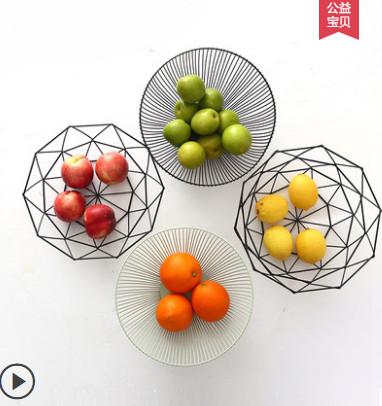 铁艺客厅创意简约水果盘
