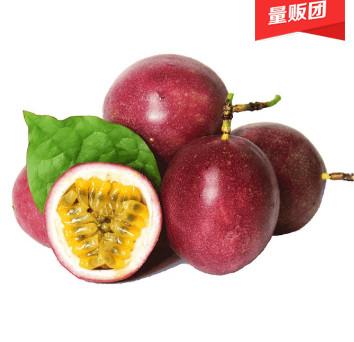 纯香果广西新鲜大红百香果2.5斤,