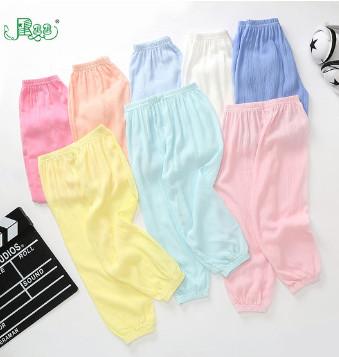 儿童薄款防蚊裤100-140cm