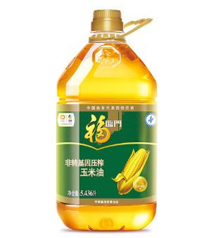 福临门压榨玉米油5.436L,