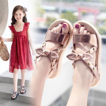 夏季新款时尚小公主鞋软底,