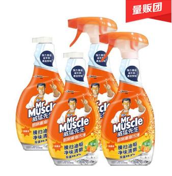 威猛先生厨房清洁剂455g*4,