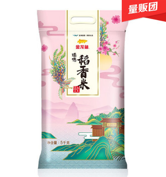 金龙鱼 臻选稻香米5kg,