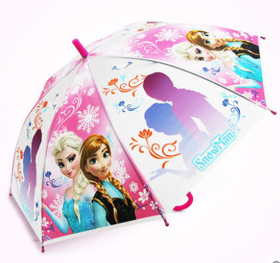 【升旺旗舰店】可爱卡通长柄儿童雨伞