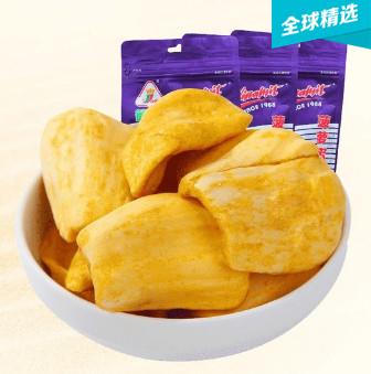 越南德诚菠萝蜜干80g*2袋,