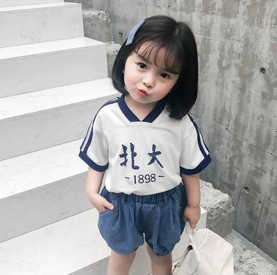 """站长到货!""""清华、北大""""2019新款夏装 短袖上衣"""