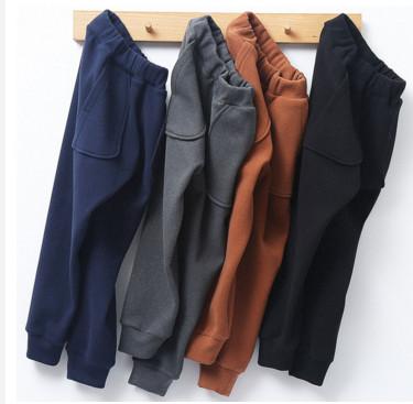 (前10000件减18.5元)儿童外穿休闲裤儿童秋冬厚款