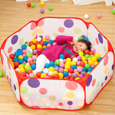 波波球池子!儿童海洋球可折叠围栏球池(建议买100个球的套餐)