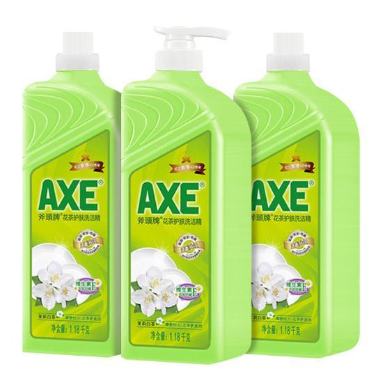 【AXE斧头牌】茉莉花茶洗洁精1.18kg*3瓶