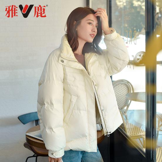 yaloo/雅鹿 时尚宽松加厚羽绒服