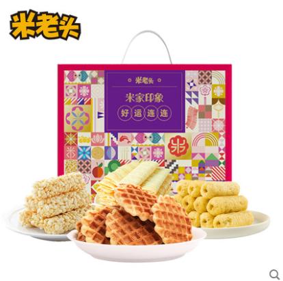【米老头旗舰店】米家印象年货节礼盒800g