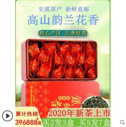 【鑫世和】浓香型铁观音铁盒装125g
