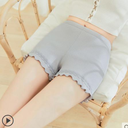 【凡花雨旗舰店】纯棉薄款外穿蕾丝打底裤