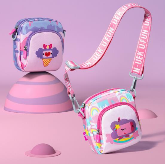 【uek品牌自营店 】儿童斜挎包时尚迷你零钱包